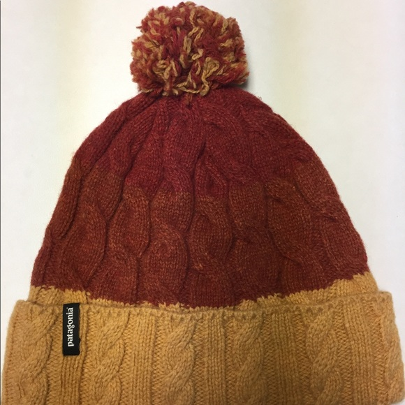8fa7bcfe78c Patagonia Accessories - Patagonia Pom Beanie Tri-Colored Winter Hat